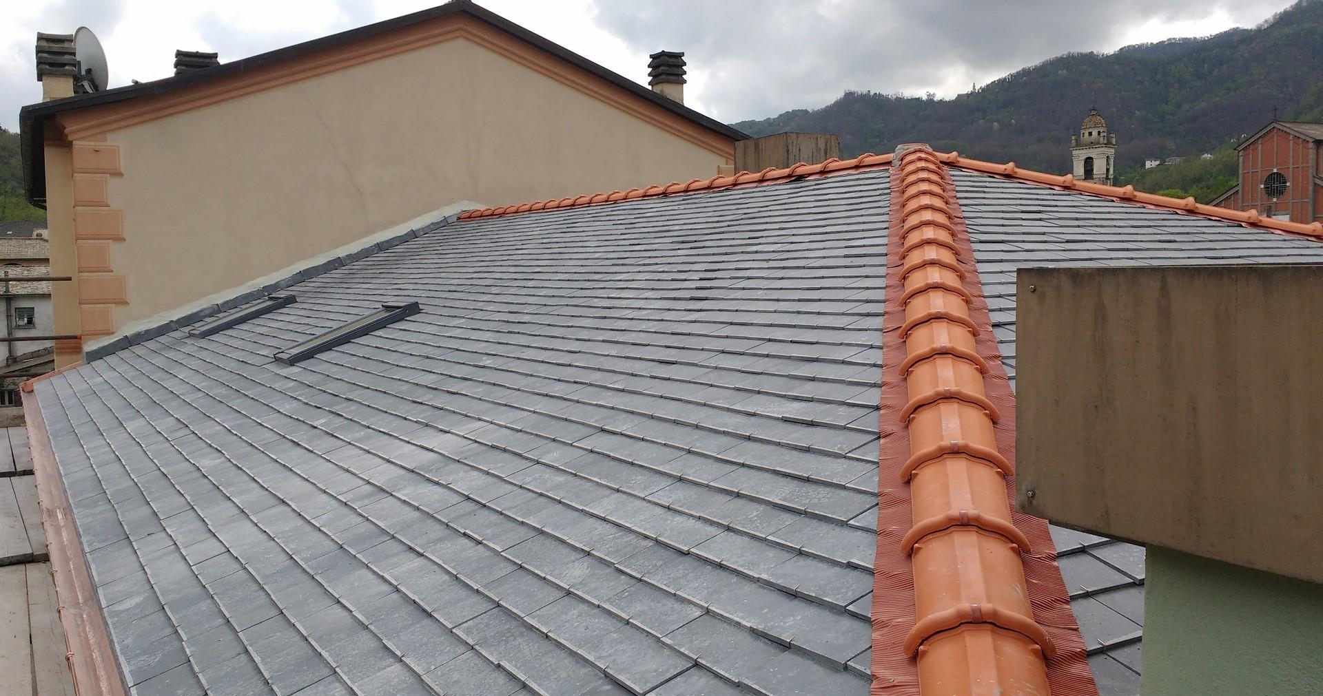 Cuneo Angiolino  tetto triplo alla ligure in ardesia  tetto triplo alla ligure in ardesia ...